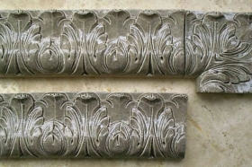 Acanthus Liners and Corner in discontinued glaze