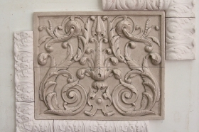 Acanthus Liners and Corners Sampler