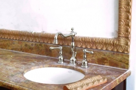 Tile Sets Installed in Bathrooms