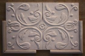 Bordeaux tile sampler