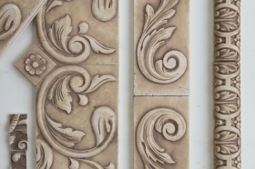 Bordeaux tile for Decorative Wall Insert
