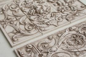 Bouquet tile Close Up