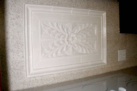Colonial Flower for Decorative Wall Art