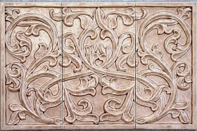 English Panel for Kitchen
