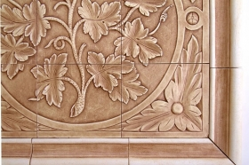 Grape Vine tile Close Up