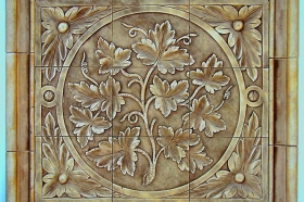 Grape Vine for Decorative Wall tile