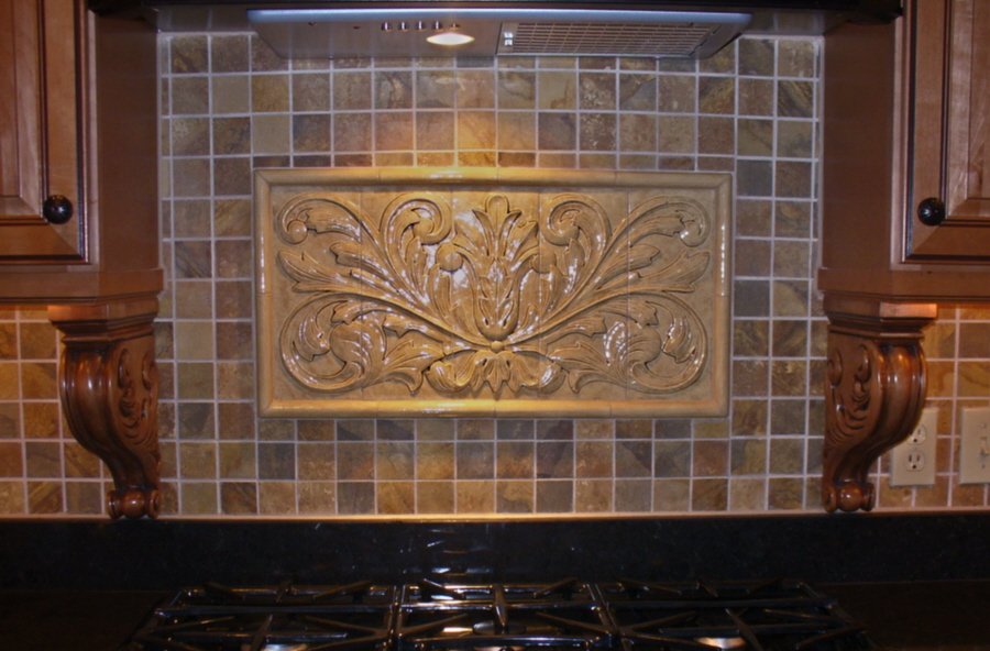 decorative tile inserts kitchen backsplash installations
