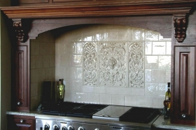 Large Kitchen Backsplash Installations