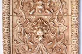 Lion Panel and Henry's liner for Decorative Kitchen tiles