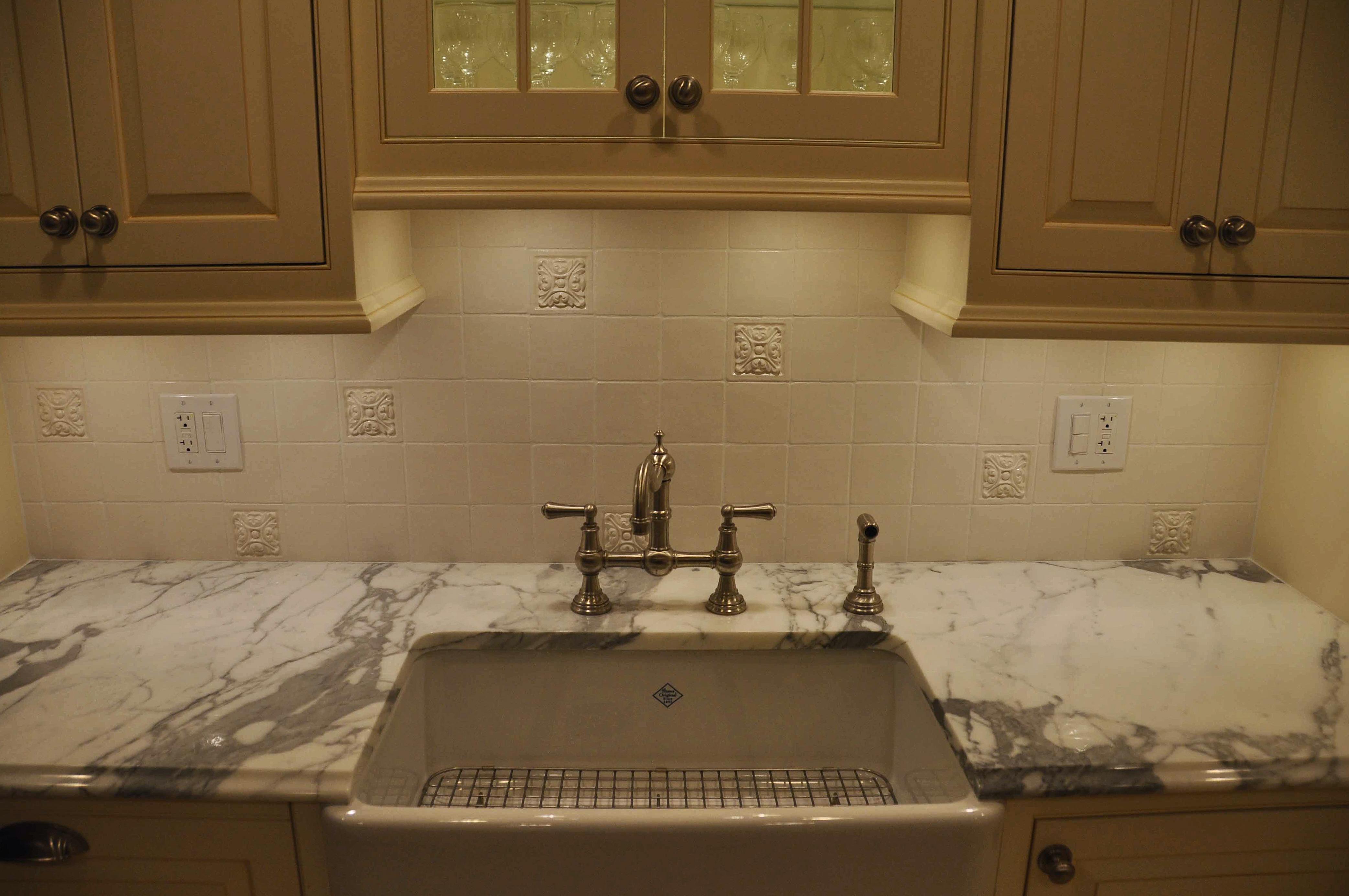 small relief tiles stone insert designs kitchen backsplash insert