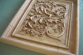 Plain Frame Liners for Decorative Ceramic Tile