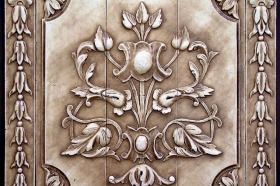 Raised Panel for Decorative Wall Art