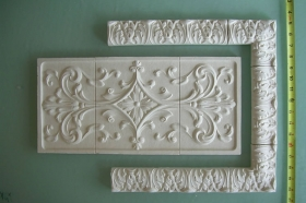 Small Acanthus Liners and Corners Sampler