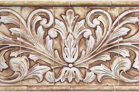 Toulouse tile for Kitchen Wall Decoration