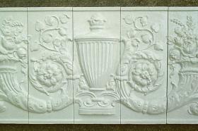 Urn Panel Installed