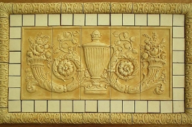 Urn Panel for Interior Design