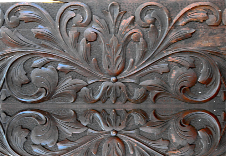 Original Wood Panel Which Required A Certain Amount Of Repairs And Modifications Before The Reproduction Process Was Started