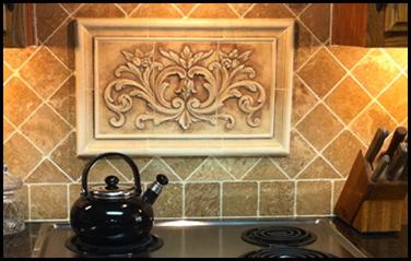 Kitchen Backsplash Centerpiece introduction - andersen ceramics