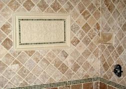 Tile Sets Installed in Bathrooms