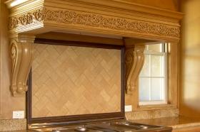 Field Tiles Installed in Kitchen