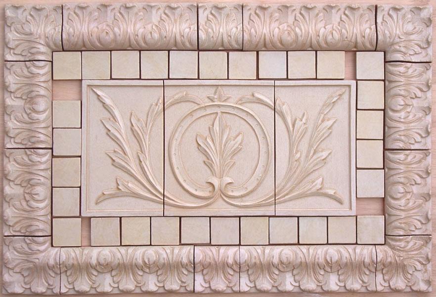 Medium Tiles For Kitchen Backsplash Bath And Ceramic Fireplace Tiles