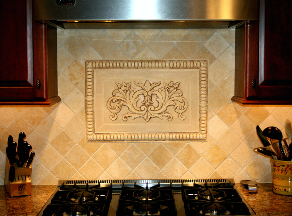 decorative tile inserts kitchen backsplash installations andersen ceramics 6316