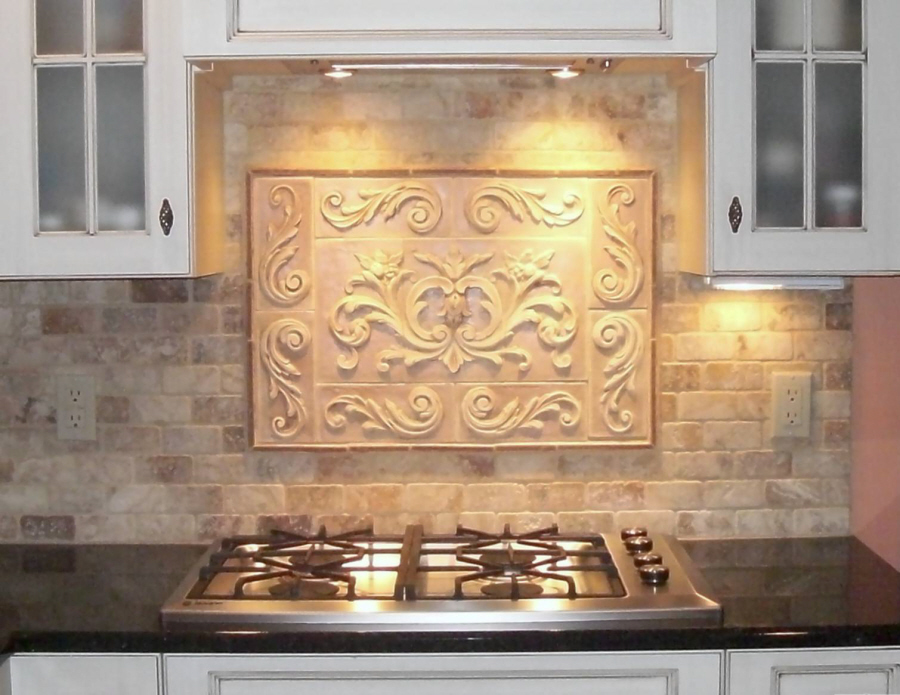 decorative tile inserts kitchen backsplash installations andersen ceramics 3037