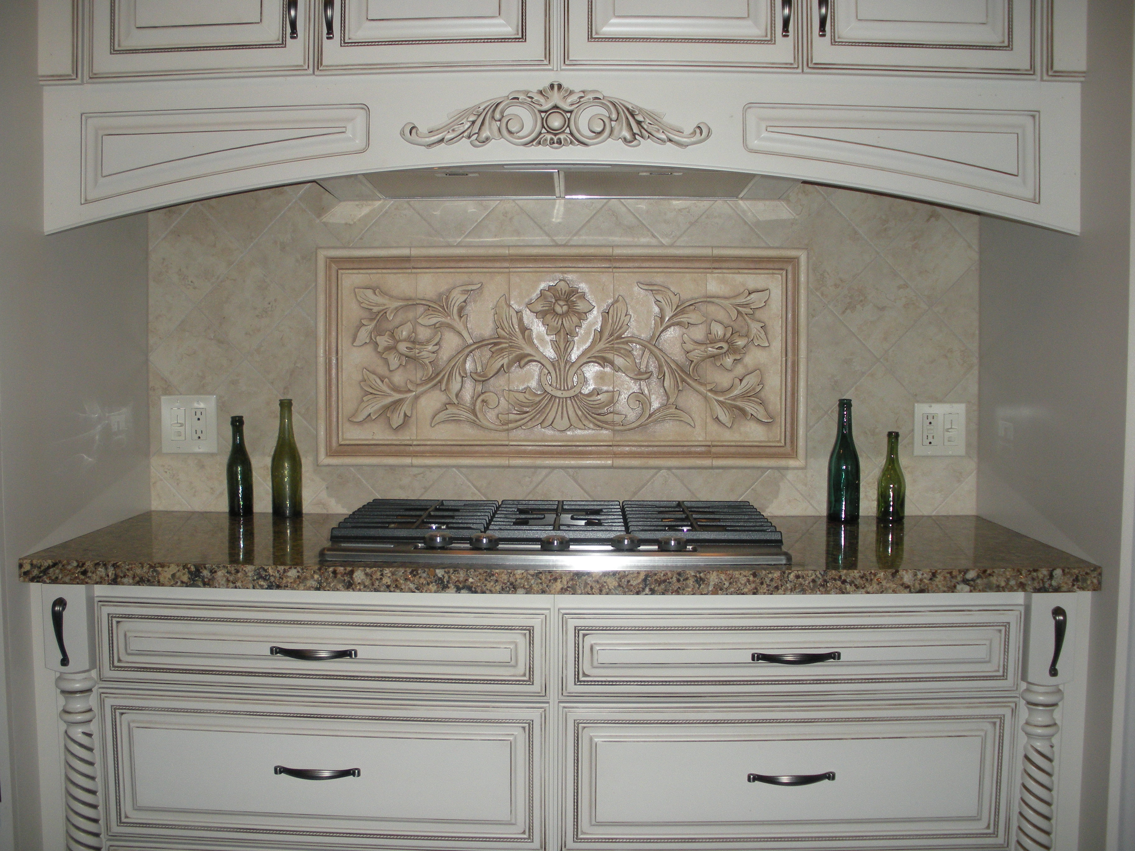 - Large Hand Pressed Decorative Tiles By Andersen Ceramics, Austin TX