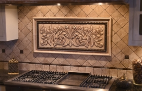decorative tile inserts kitchen backsplash installations andersen ceramics 3085