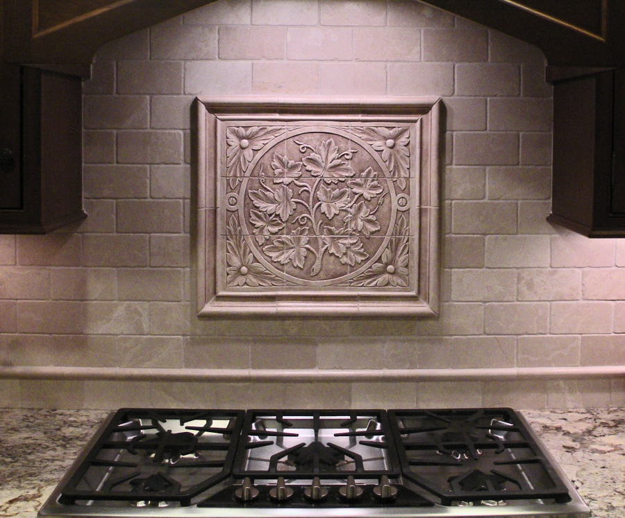 decorative kitchen backsplash tiles installations andersen ceramics 6496