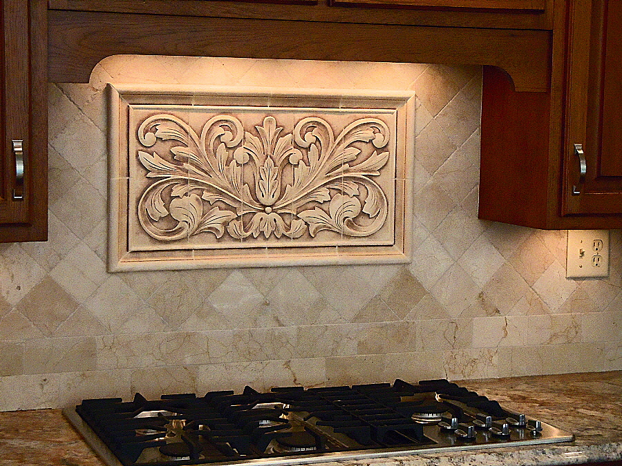 Home Depot Kitchen Backsplash Decorative Borders And Accent