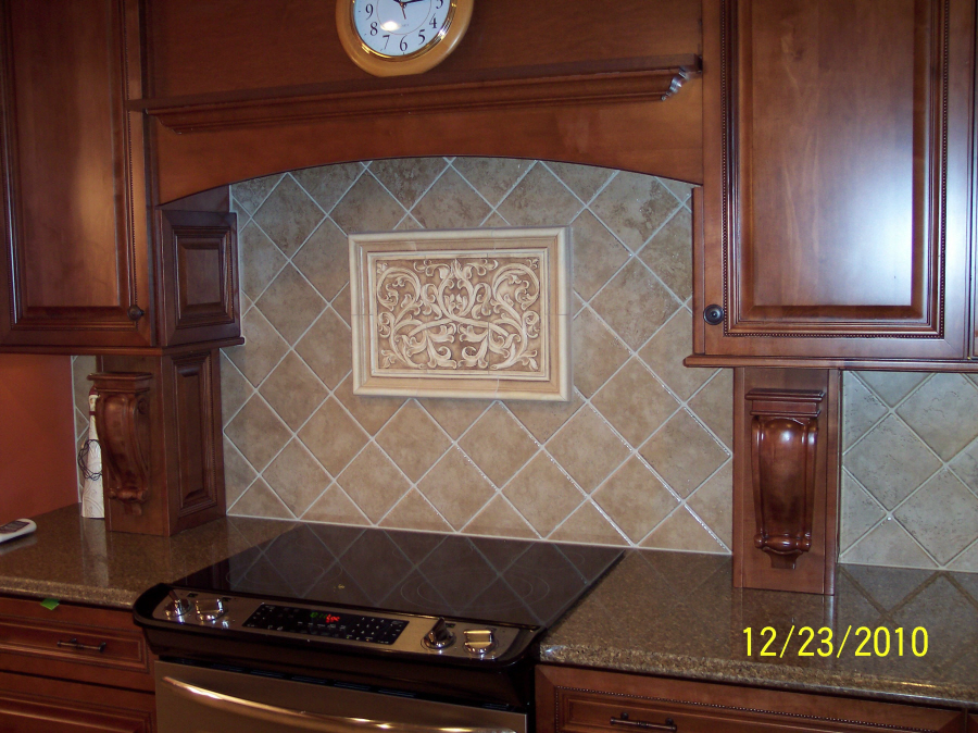 1Kitchen Backsplash Installations: One - Andersen Ceramics